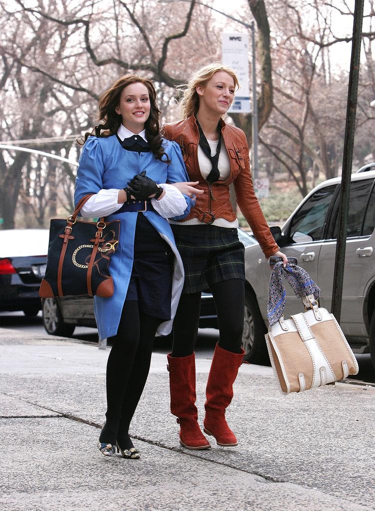 Fashion Gossip Seeing Stars This Fall Dolce Gabbana: Blake Lively Serena Van Der Woodsen Style In Gossip Girl