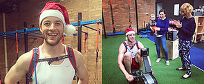 He Did It! Hamish Blake Smashes 42K on an Indoor Rowing Machine For Charity
