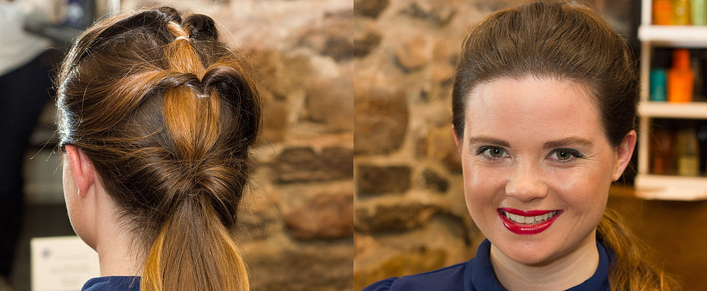 DIY This Topsy-Turvy Textured Ponytail in 3 Simple Steps