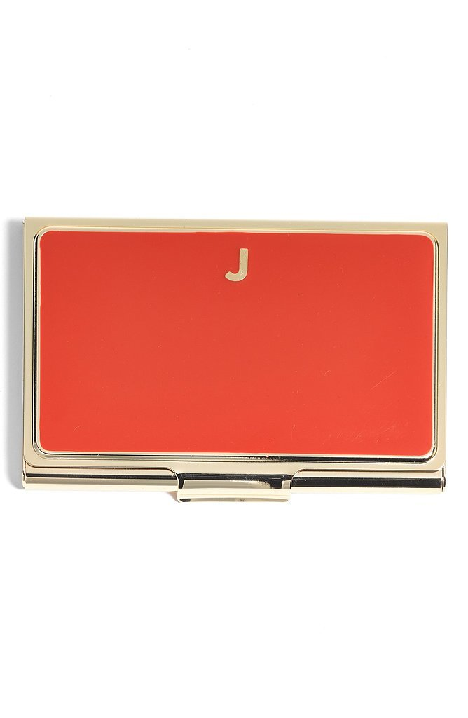 This Kate Spade business card holder ($30) is equal parts practical and chic.