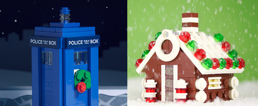 Build Your Own Lego Winter Wonderland