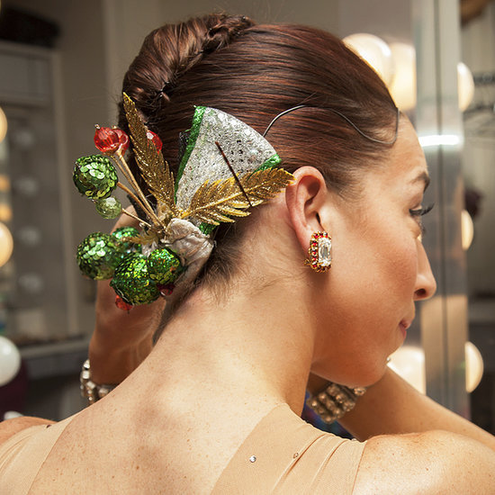 Rockettes Hairstyle DIY