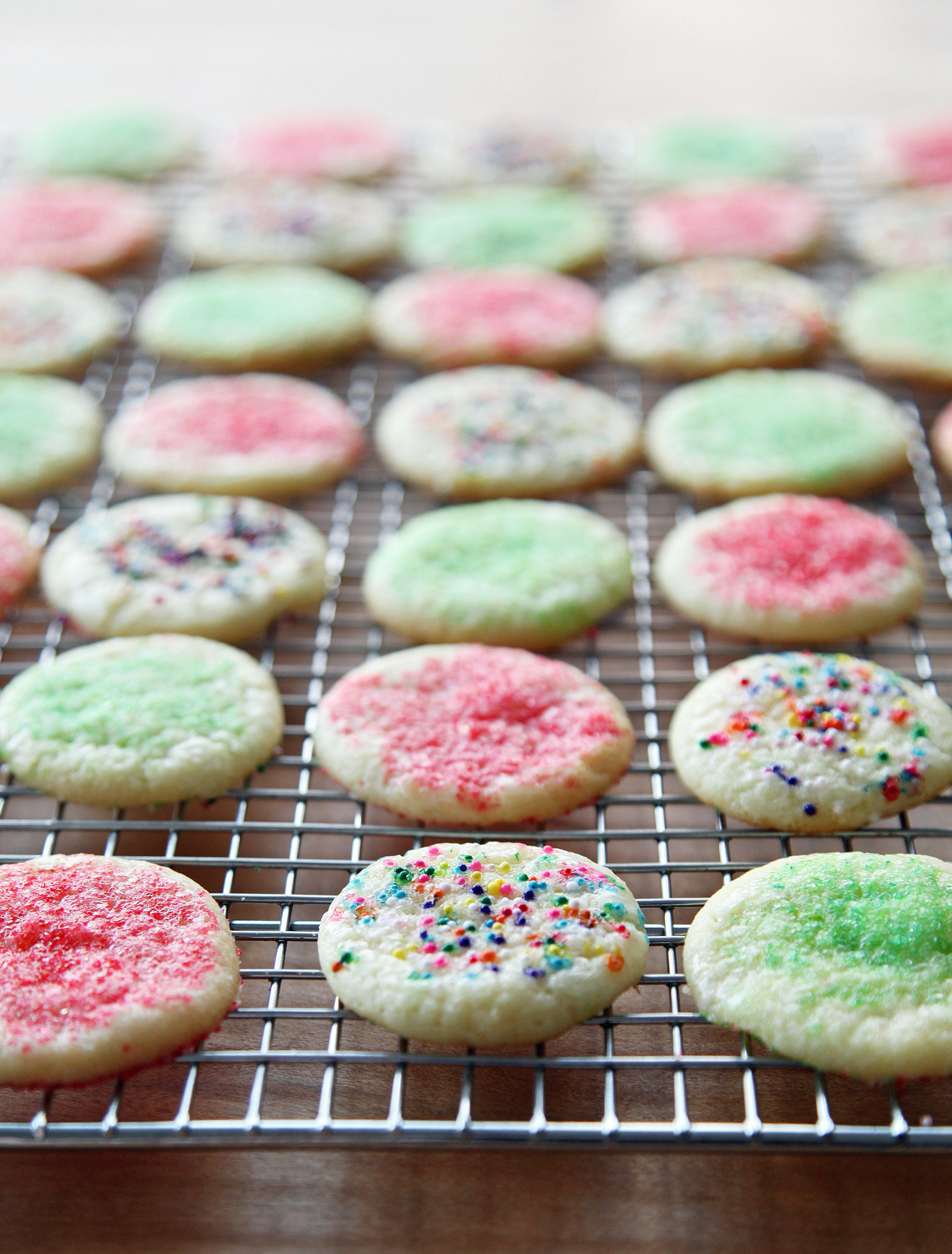 adapted from susannah chen and linda mcclure chewy sugar cookies