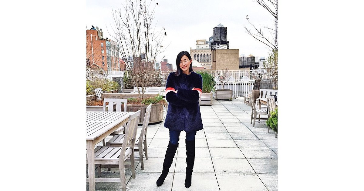 nicole warne was dressing for the new york cold gary pepper style the insta edit the 40. Black Bedroom Furniture Sets. Home Design Ideas