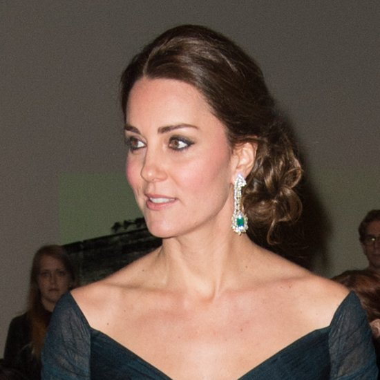 Kate Middleton Up 'Do Hairstyle in New York December 2014