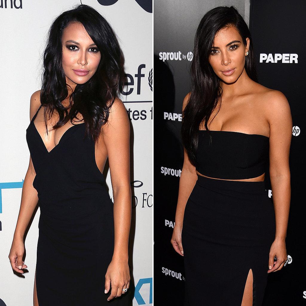 Naya Rivera vs. Kim Kardashian