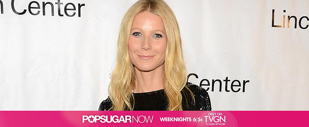 Today on POPSUGAR Now: Get Gwyneth's Healthy Holiday Recipe