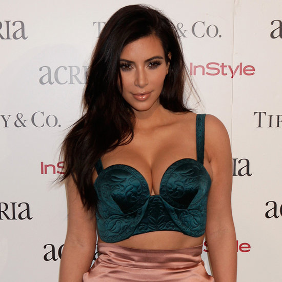Kim Kardashian Dress at ACRIA Dinner in 2014