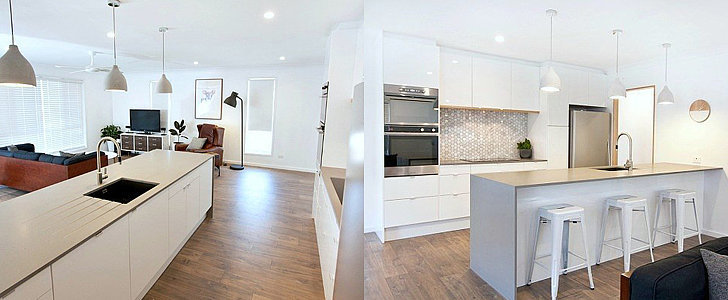 Can You Believe This Couple's Sleek Kitchen Is From Ikea?