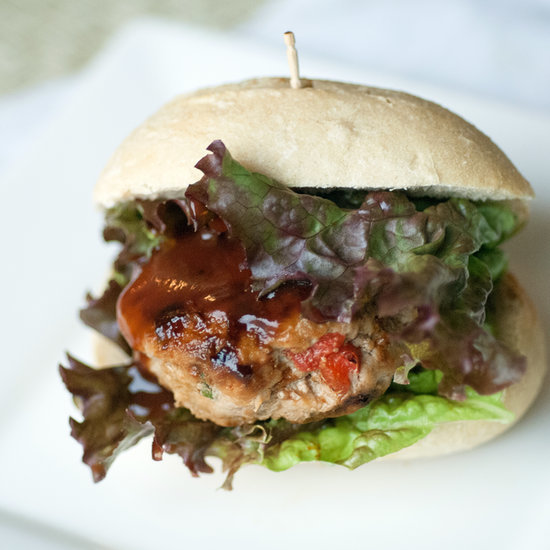 Mini Barbecue Turkey Burgers