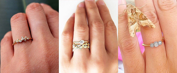 30 Small Real-Girl Engagement Rings With Big Impact