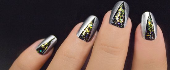 Ring In the New Year With a Glittery DIY Nail Art Design