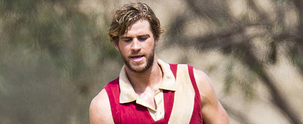 Happy Holidays From Liam Hemsworth's Rippling Muscles!