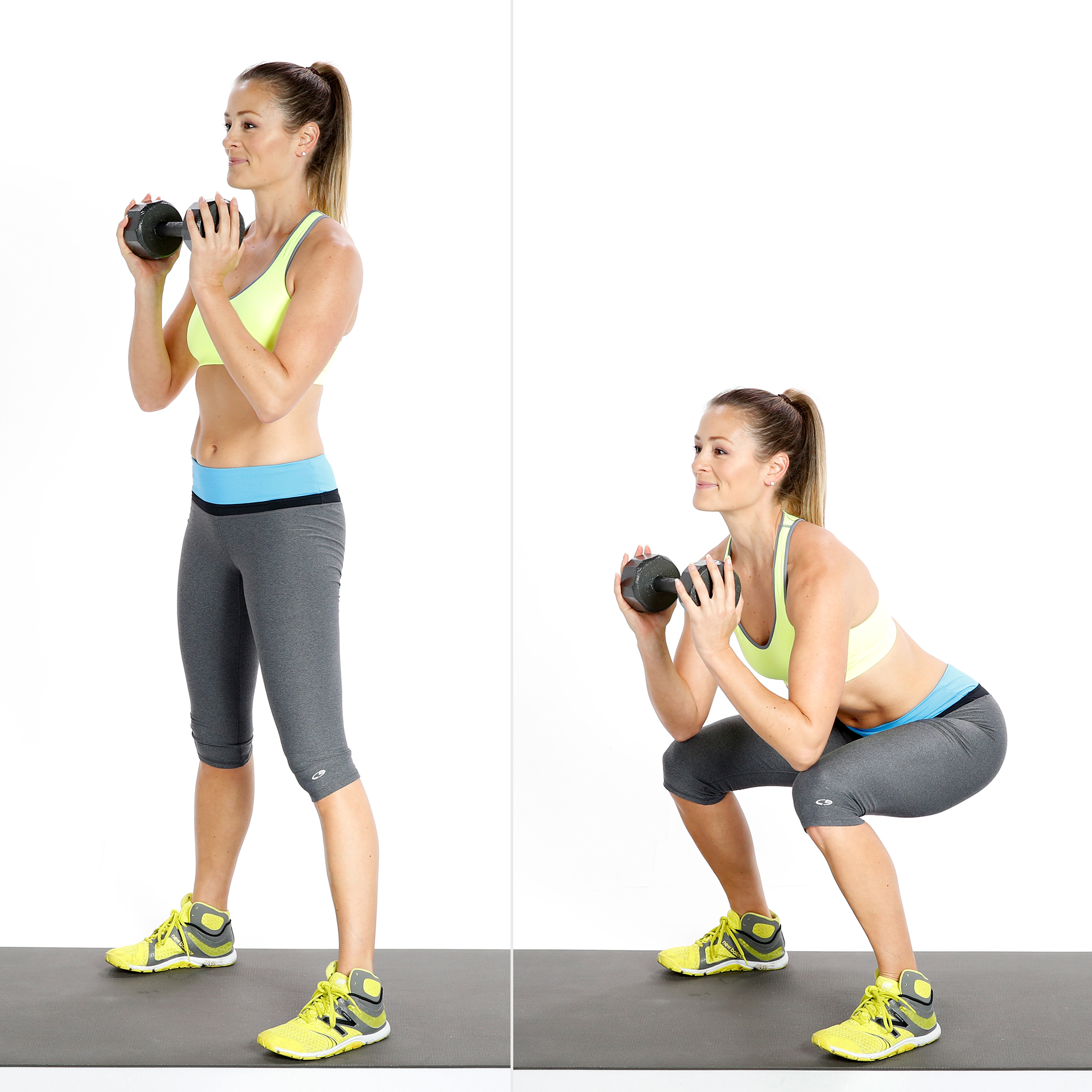 Circuit One: Goblet Squat | Build Muscle and Boost Your ...