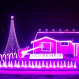 Star Wars Christmas Light Display