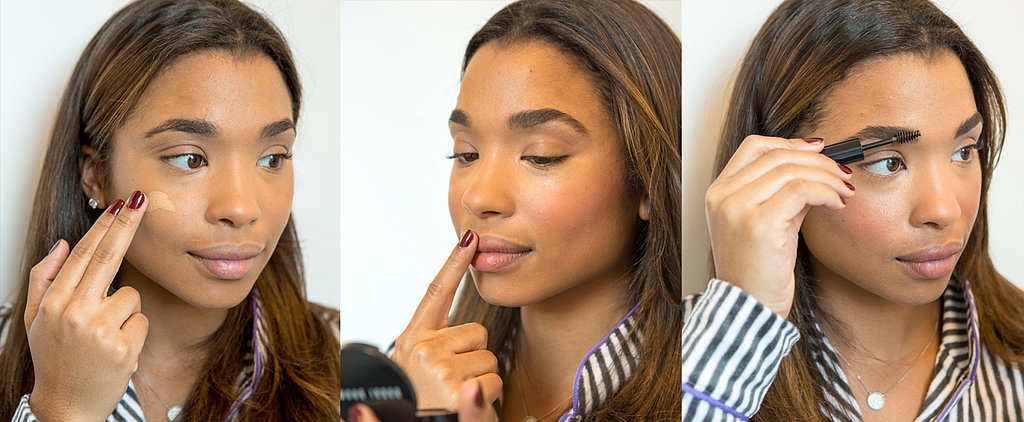 The 5-Minute Christmas Morning Makeup You Can Do in Your PJ's