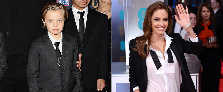 Like Mother, Like Daughter: Angelina and Shiloh Both Rock a Pantsuit