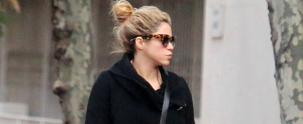 Shakira Sports Her Baby Bump While Shopping in Spain