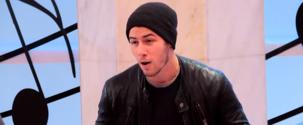 "Nick Jonas Performs ""Jealous"" on FAO Schwarz's Giant Piano, and It's So Good"