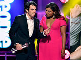 A Gratuitous Recap of Mindy & Chris's Sexy Acceptance Speech
