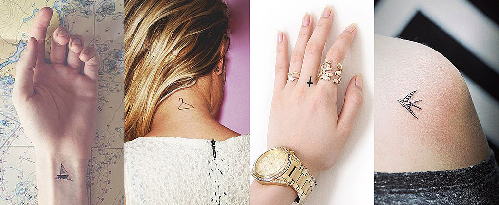 44 Real-Girl Tiny Tattoo Ideas For Your First Ink