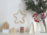 See How to Make a Scandi-Style Beaded Star (10 photos)