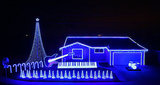 Check Out This 'Star Wars' Christmas Light Show (VIDEO)
