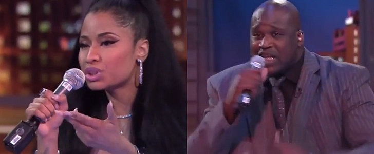 That Time Nicki Minaj Freestyled With Shaquille O'Neal