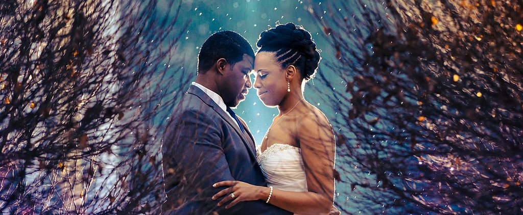 You'll Be Mesmerized by This Romantic Christmas Wedding