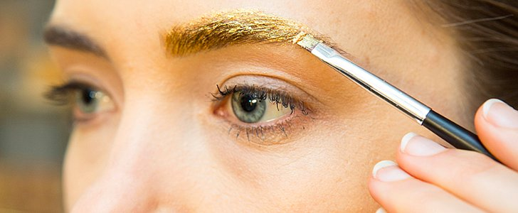 How to Get Gold Eyebrows (on Fleek!)