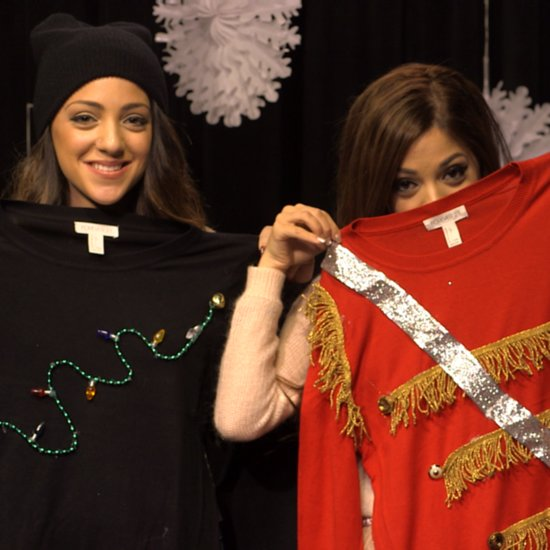 DIY Christmas Sweater Video How To