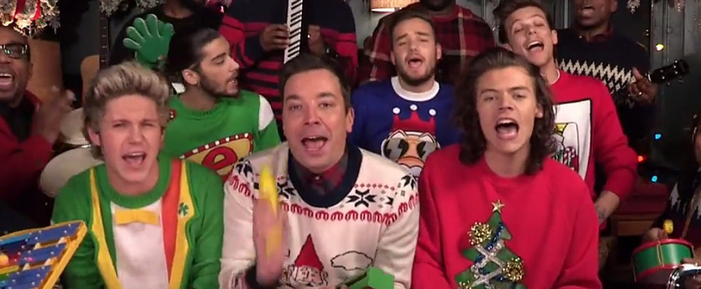 Jimmy Fallon and One Direction's Christmas Sing-Along Will Bring You So Much Holiday Cheer