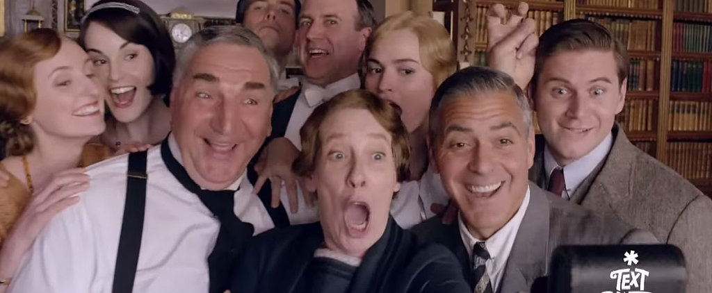 Here's Your Full Look at George Clooney in Downton Abbey