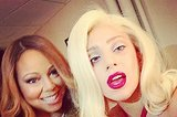 Lady Gaga And Mariah Carey Take The Most Diva Picture Of 2014