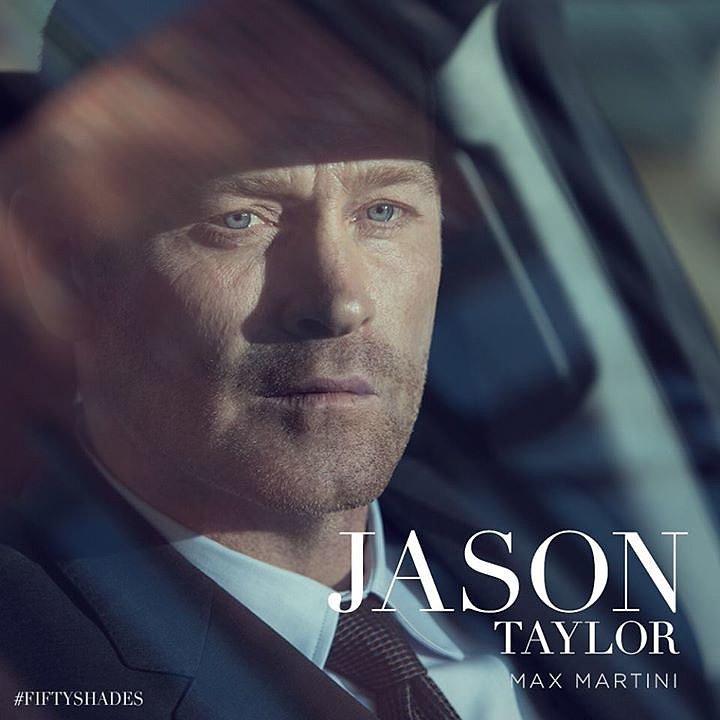Max Martini plays Christian's bodyguard, Jason Taylor.