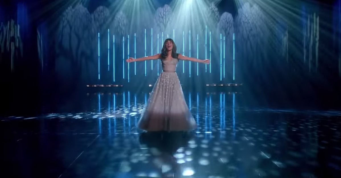 """Lea Michele Sounds Like an Angel in Glee's Full Version of """"Let It Go"""""""