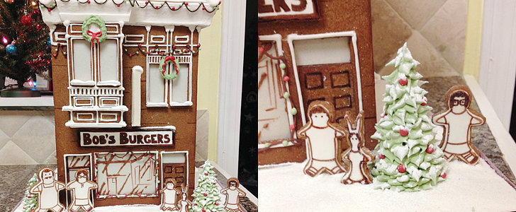 You Need to See This Bob's Burgers Gingerbread House