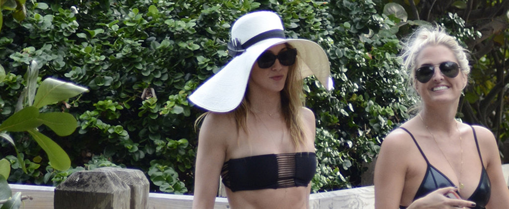 Katie Cassidy Shows Off Her Rock-Hard Bikini Body at the Beach