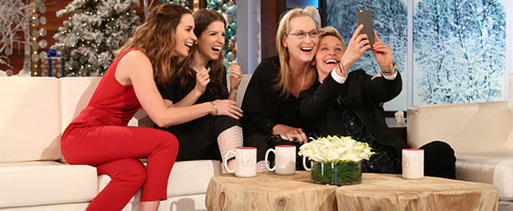 Emily Blunt and Anna Kendrick Gang Up on Meryl Streep