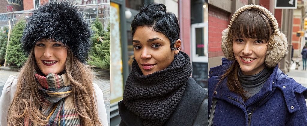 Real-Girl Winter Beauty Inspiration From the Streets of New York City