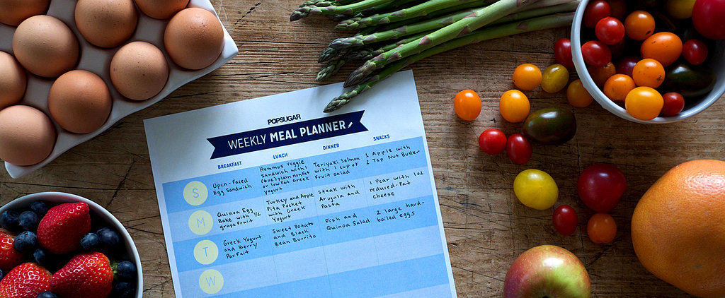 Your Get Fit 2015 Printable Meal Planner