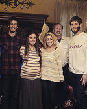 Jill Duggar Spends Christmas Eve With the Dillards: See the Pregnant Star's Big Baby Bump!