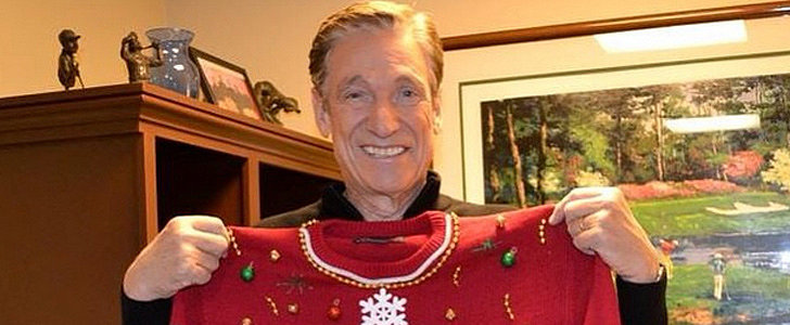 You Have to See Maury Povich's Completely Appropriate Christmas Gift