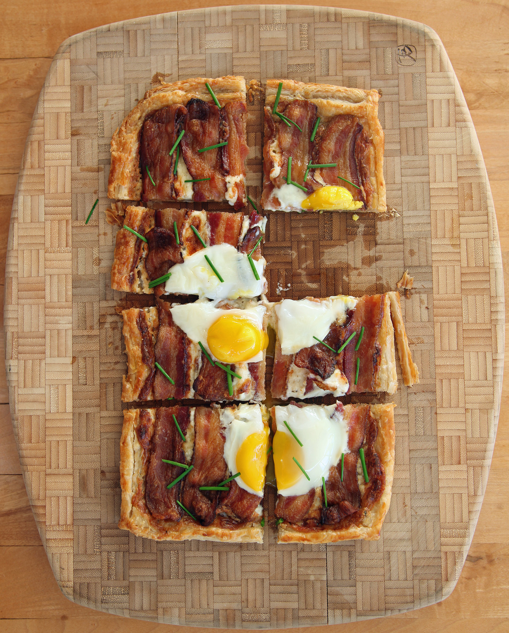 Bacon and Egg Breakfast Tart | In Puff Pastry We Trust: 14 Recipes ...