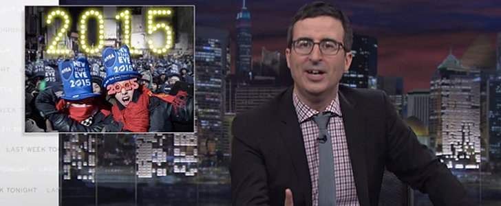 John Oliver Points Out Why New Year's Eve Is the Worst