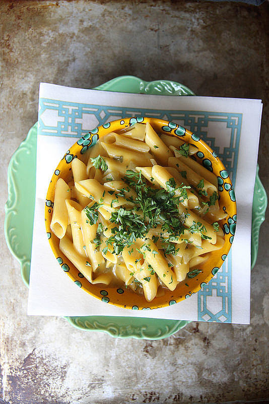 One-Pot Creamy Pumpkin Penne