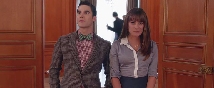 "Watch Blaine Hit Some Crazy-High Notes For Glee's Take on Ed Sheeran's ""Sing"""