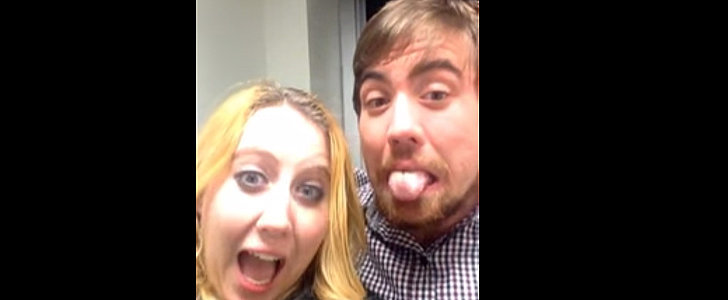 This Guy Just Keeps Falling For His Sister's Hilarious Selfie Prank