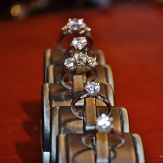 What Different Engagement Ring Diamonds Look Like on Real Hands
