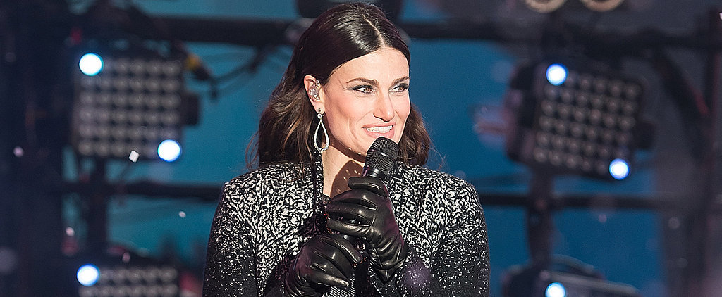 Idina Menzel Defends Her New Year's Eve Performance